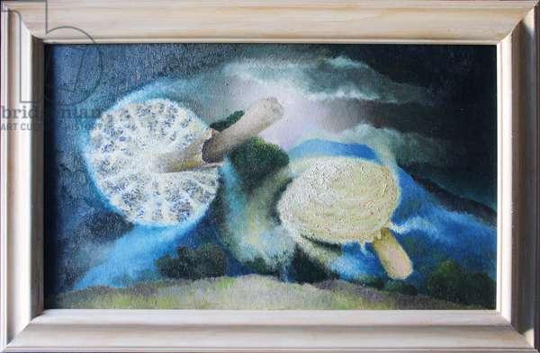 Mushroom Spirit, 2007 (oil on canvas)