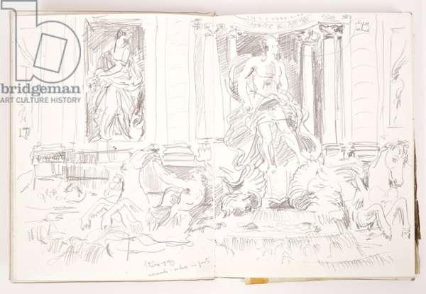 Rome, c.1982 (pencil)
