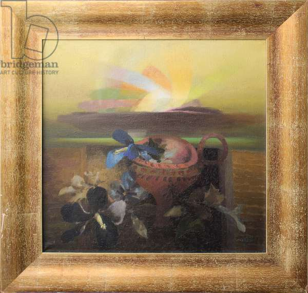 The Table of Minos VI, 1971 (oil on canvas)