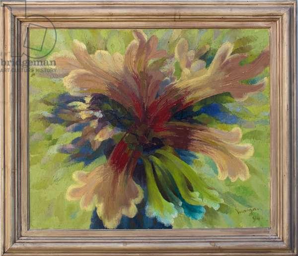 Green Man II, 1994 (oil on canvas)