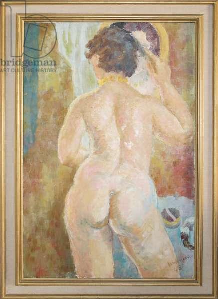 Betty, 1948 (oil on canvas)