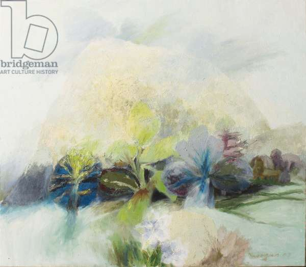 Landscape Early Spring, 2007 (oil on canvas)