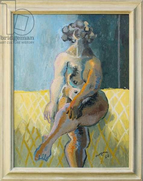 Jolly Nude, 1958 (oil on board)