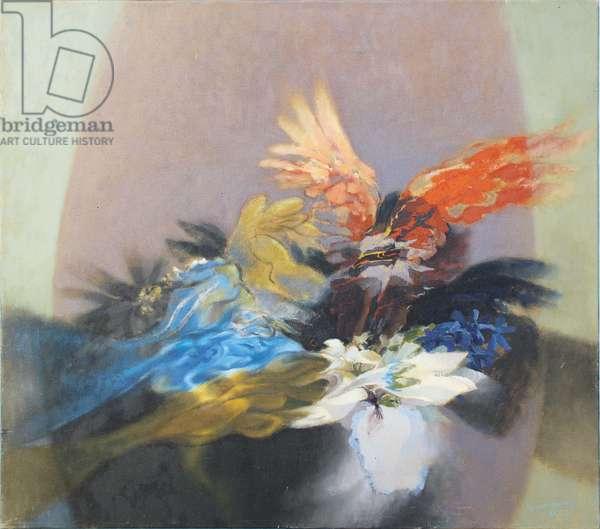 Fantasy after Mahler, 1979 (oil on canvas)