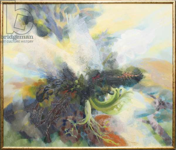 The Green Man, 1993 (oil on canvas)