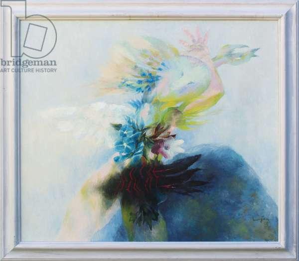 Blodeuwedd IV, 2005 (oil on canvas)
