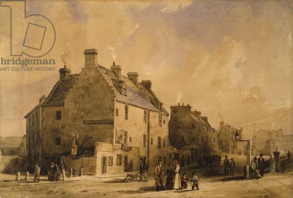 Provand's Lordship, 1840s (w/c on paper)