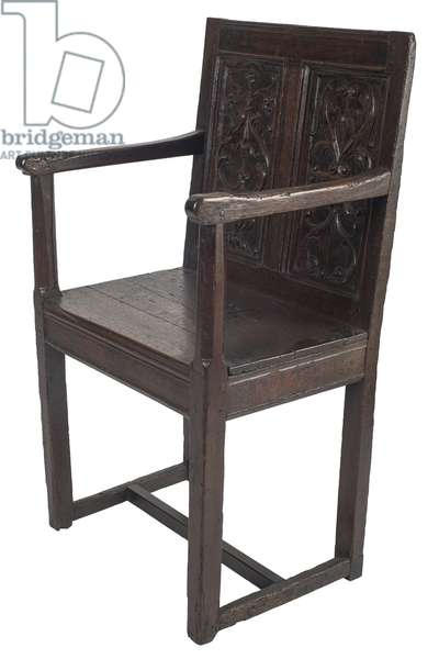 Armchair, c.1540 (oak)