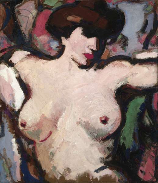 Torse de Femme, c.1911 (oil on board)