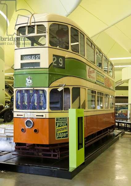 Glasgow Mark I Coronation Tram (photo)