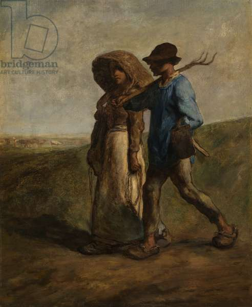 Going to Work, c.1850-51 (oil on canvas)