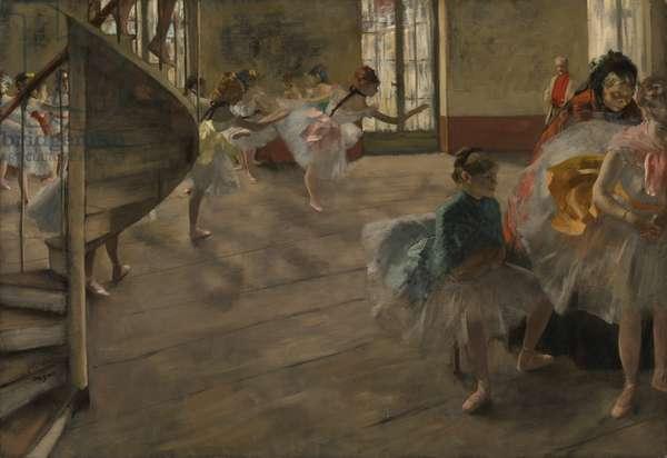 The Rehearsal, c.1877 (oil on canvas)