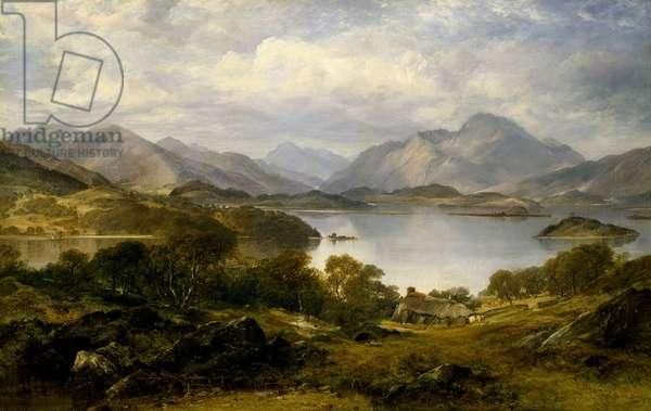 Loch Lomond, 1861 (oil on canvas)