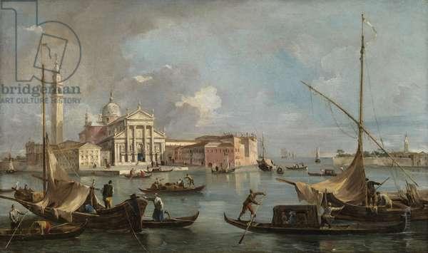 View of San Giorgio Maggiore, c.1760 (oil on canvas)