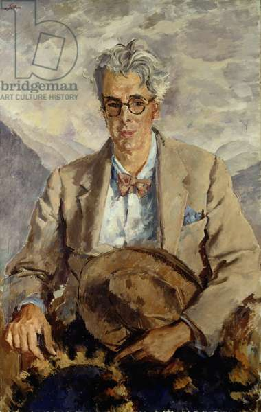 William Butler Yeats, 1930 (oil on canvas)