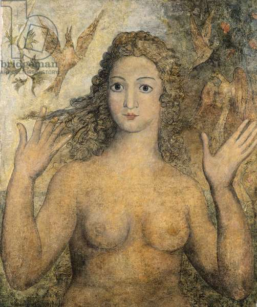 Eve Naming the Birds, 1810 (tempera on canvas)