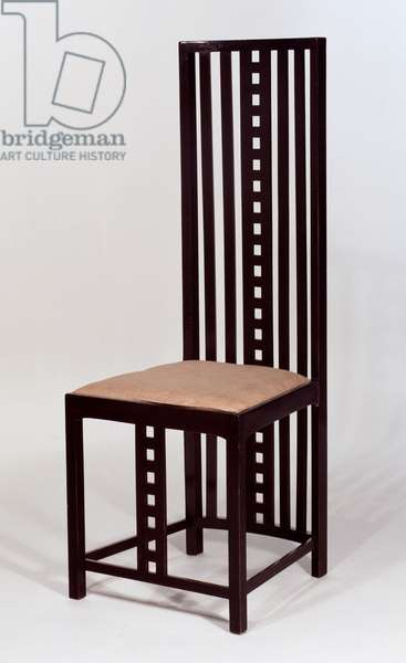 High-backed Chair (oak)