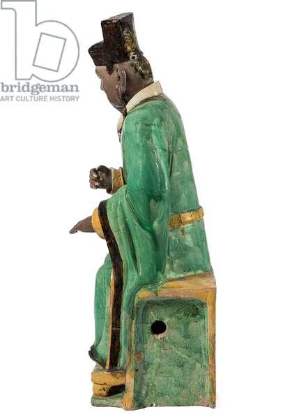 Yenle, King of the Dead (ceramic)