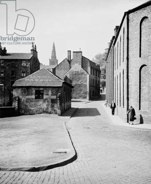 Old Glasgow, Ladywell Street, 1955 (b/w photo)
