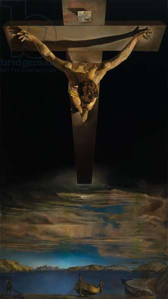 Christ of St. John of the Cross, 1951 (oil on canvas)