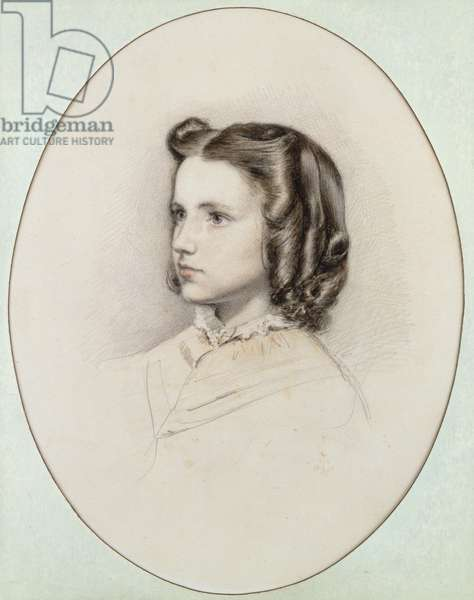 Sophie Gray, 1854 (w/c on paper)