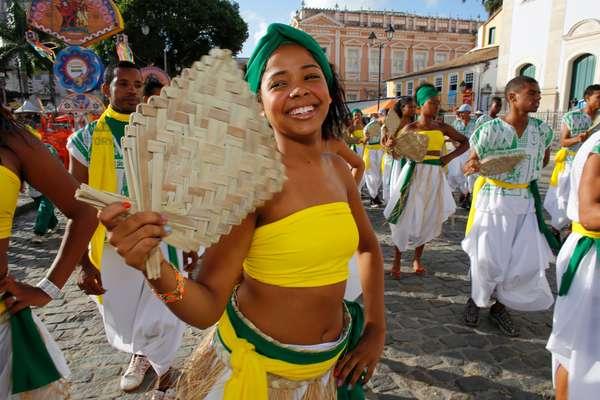 Brazil, Bahia, Salvador : Salvador carnival in Pelourinh