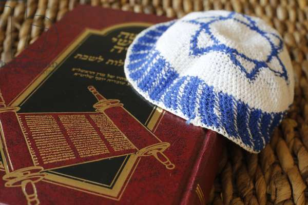 Torah and Kippah.