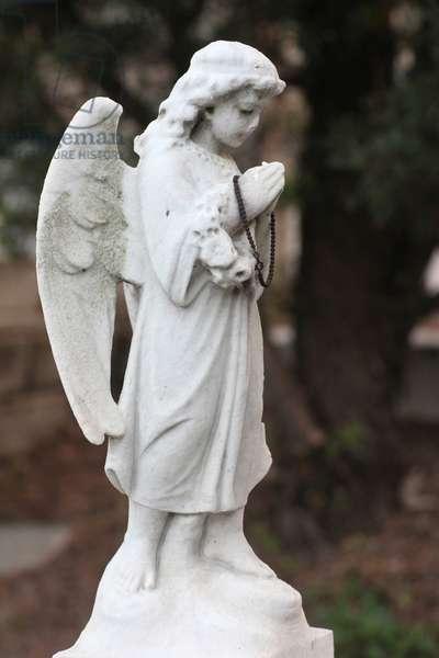 St. Michael's Cemetery. Angel. Macau China