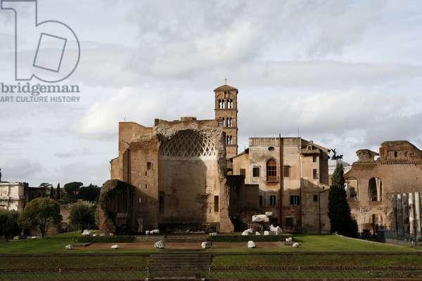 Maxence and Constantin basilica ROME ITALIE