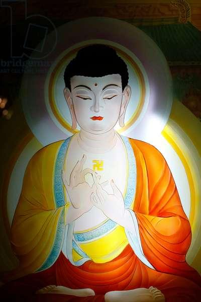 Buddha - Mahayana Buddhist Temple in Chinatown, New York, United States