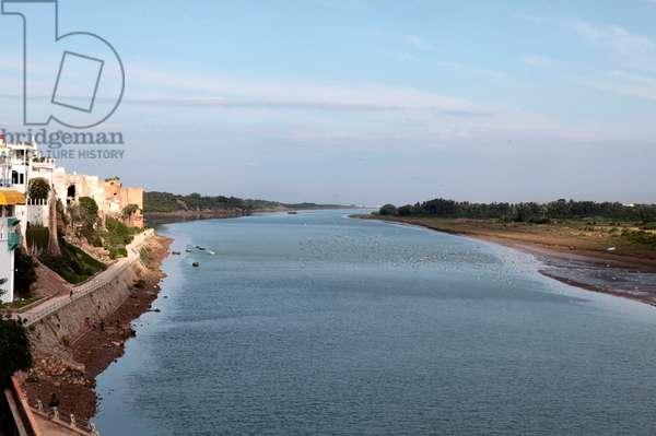 Oum Errabiaa river, Azemmour, MAROC