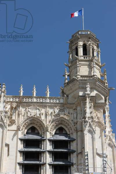 St Stephen's Cathedral. South tower. Sens France