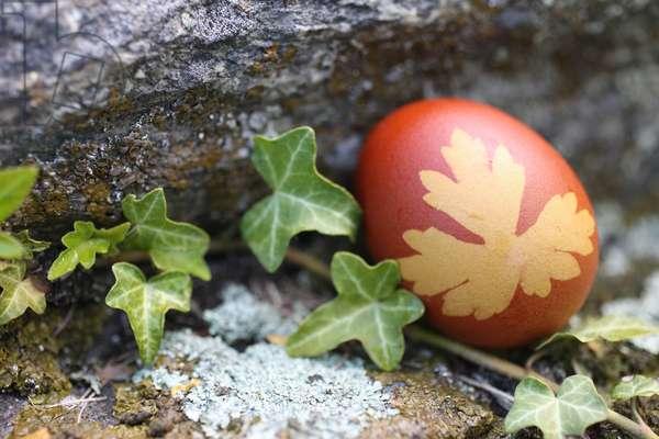 Easter egg. Saint-Gervais France