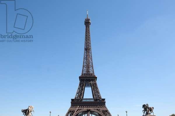 France, Ile-de-France, Paris : Eiffel tower