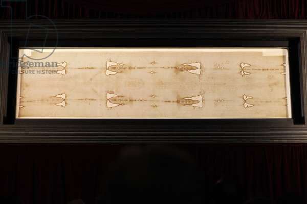 Shroud of Turin in Duomo (cathedral), Turin, Italy