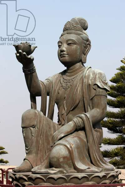 Po Lin Monastery. Bodhisattva Tung Chung China