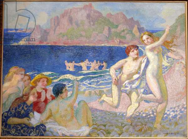 Galatee ou La Poursuite (Galatea or the chase) 1908 (oil on canvas)
