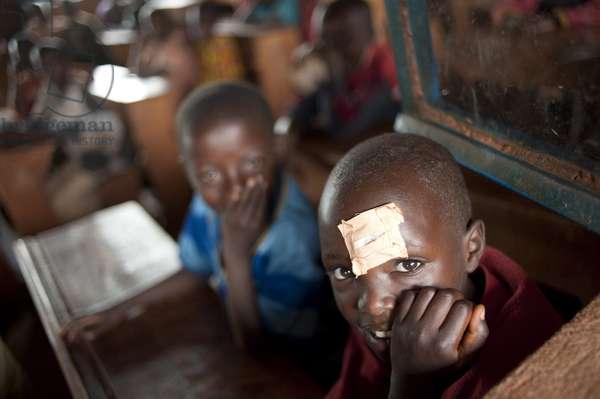 Pupils in a school in Burundi, Bukirasazi, Burundi
