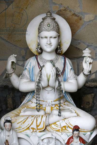 Tinh Tam temple, Buddhist Statue, Sevres, France
