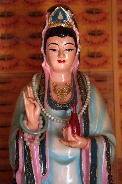 France, Haute-Savoie, Bonneville : Quan Am Bodhisattva of compassion, You An Buddhist temple