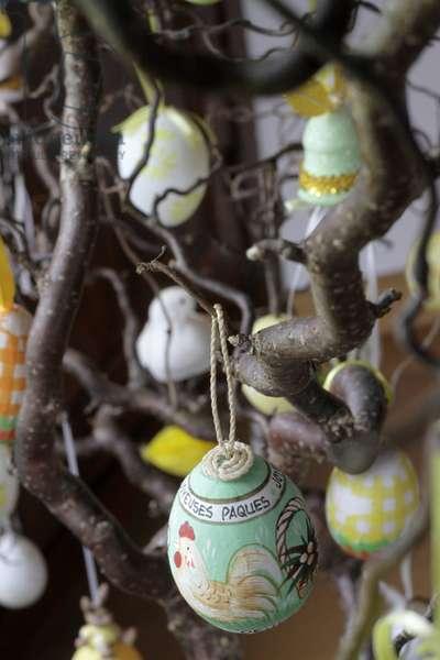 Easter tree, Saint-Gervais-les-Bains, France