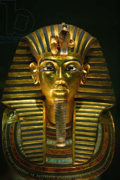 Toutankhamon's funeral mask Le Caire Egypt