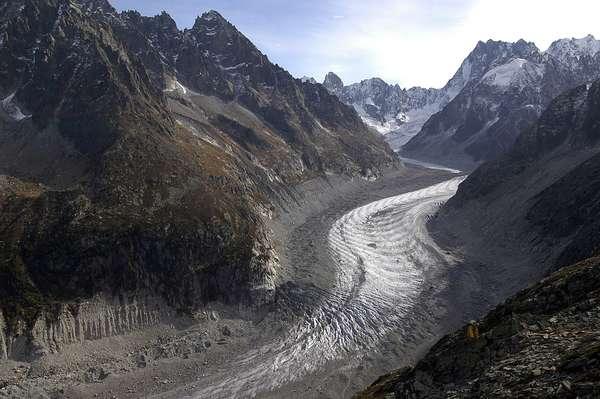 Mer de glace, French Alps, Chamonix, France