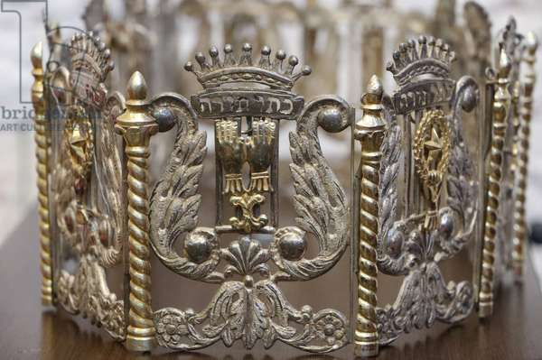 Crown. Jewish symbols. Switzerland