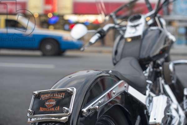 Harley Davidson motorcycle, San Francisco, United States