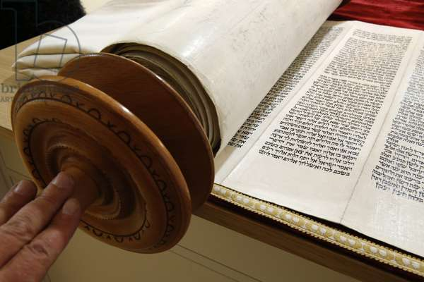 Torah scroll, Paris, France