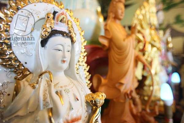 France, Haute-Savoie, Bonneville : Quan Am Bodhisattva of compassion, Tu An Buddhist temple