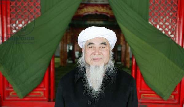 Niujie Mosque in Beijing. Imam, Beijing, China