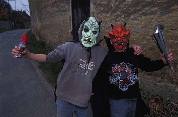 Halloween, Boncourt, France