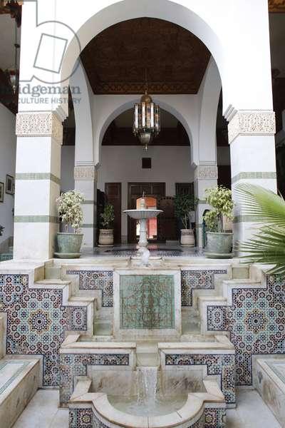 Fountain, Marrakech, Morocco